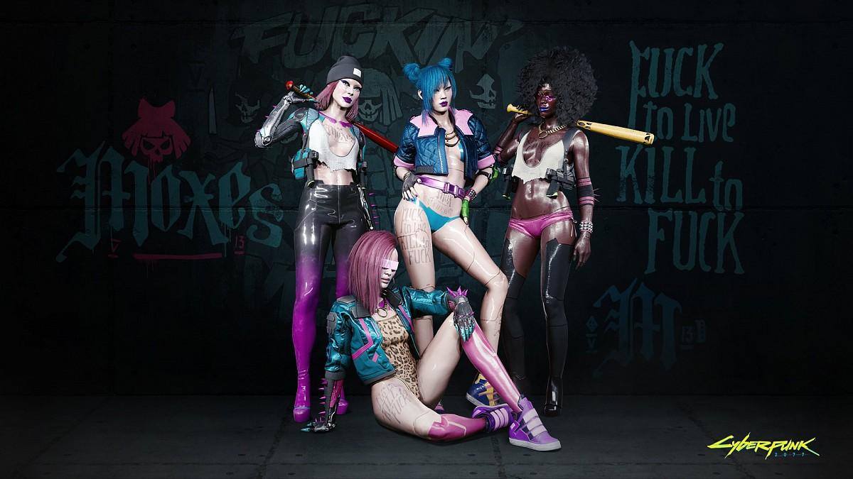 Mox - Банды - Cyberpunk Guide 2077